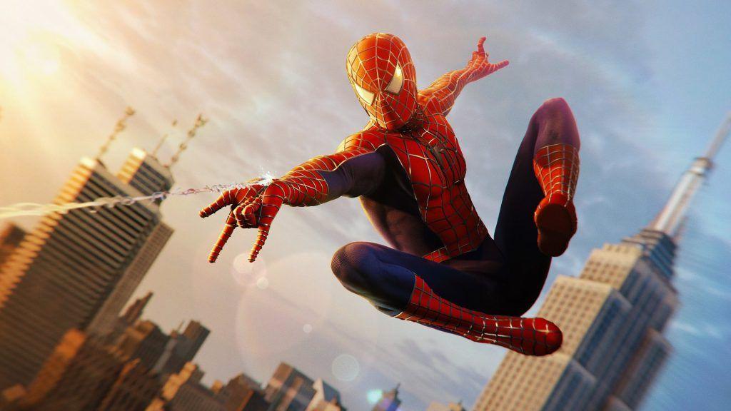 iPhone X Wallpaper Screensaver Background 144 Spiderman 4k Ultra 1024x576