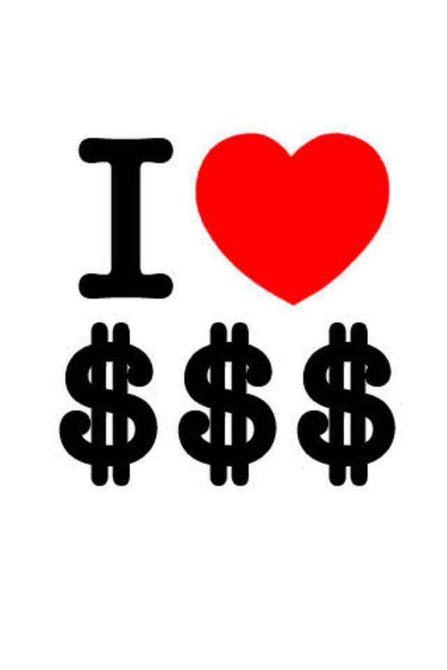 Dollar Sign Wallpaper Iphone i Love Dollar Sign Wallpaper 640x960