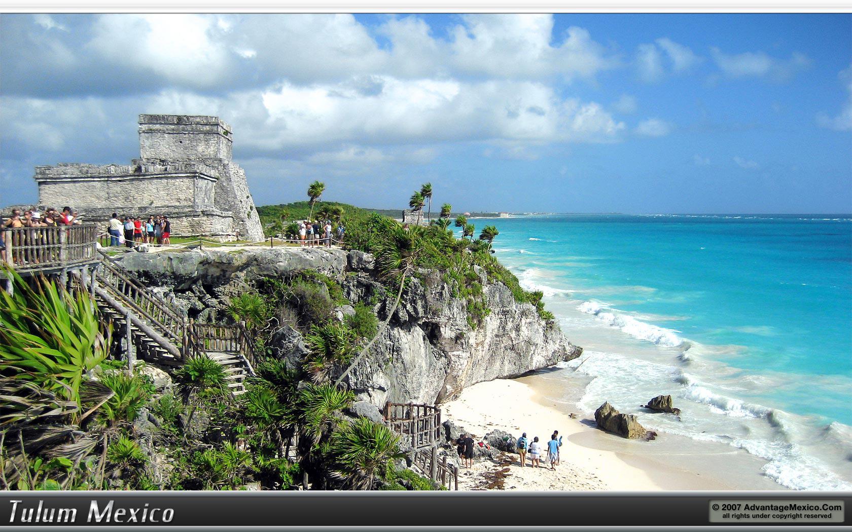 Tulum Ruins   Wallpaper Desktop Image 1680x1050