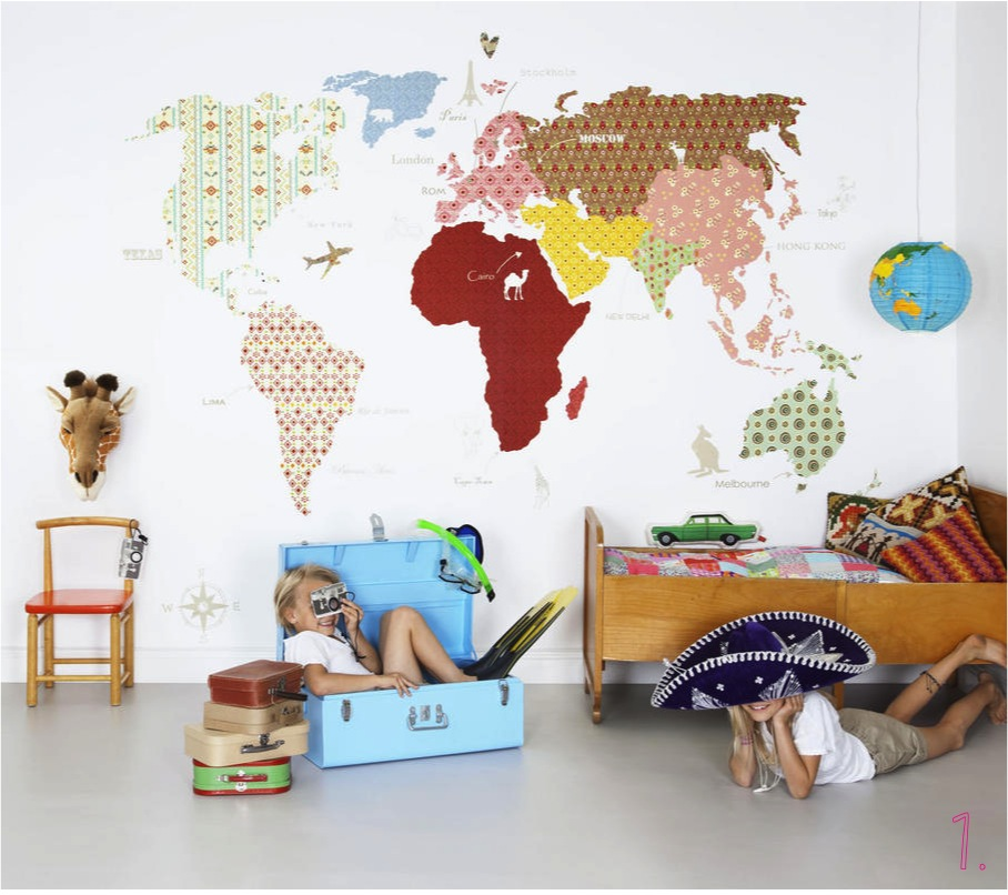 Top 10 Maps Wallpaper for Kids Room Interior Exterior Ideas 908x806