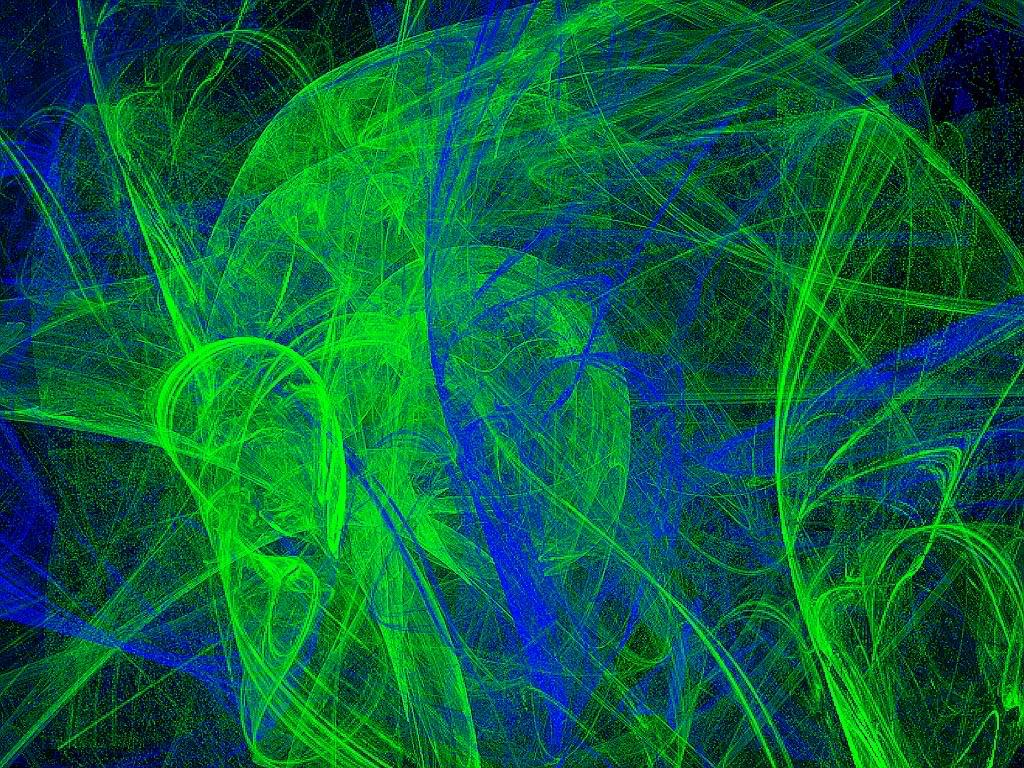Blue Green Wallpaper 1024x768