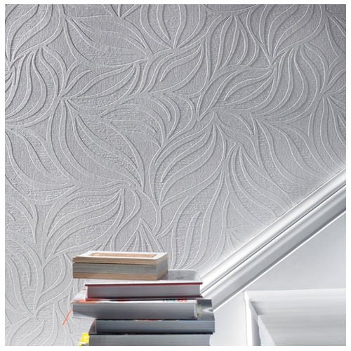 Paintable Wallpaper   paint to match decor and frame for a cheap 500x500