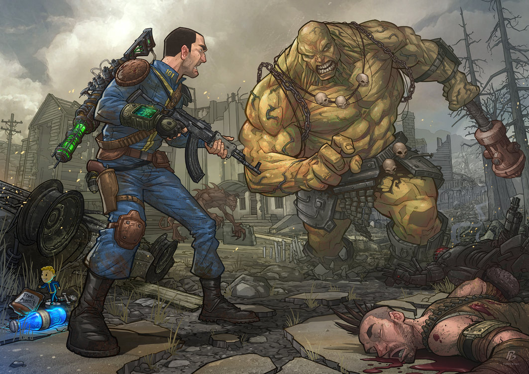 Fallout 3 by PatrickBrown 1063x752
