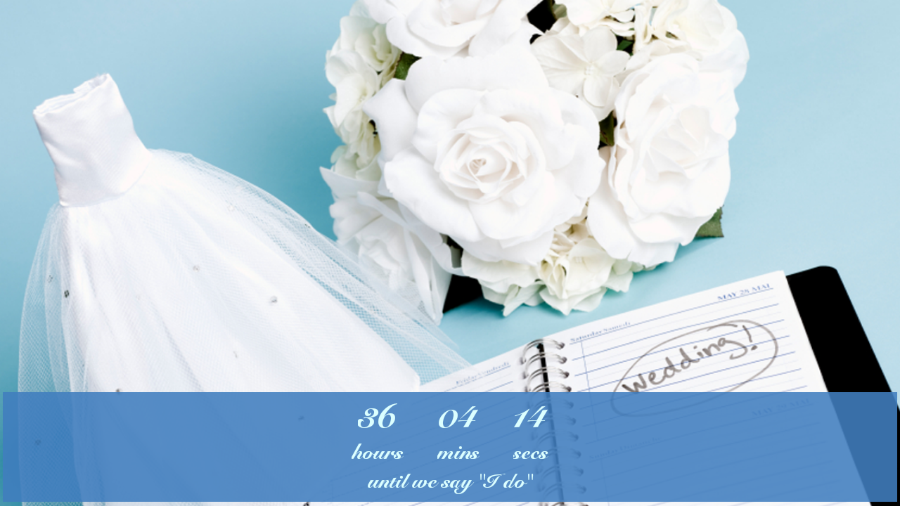 Wedding Countdown Widget   Android Apps on Google Play 1280x720