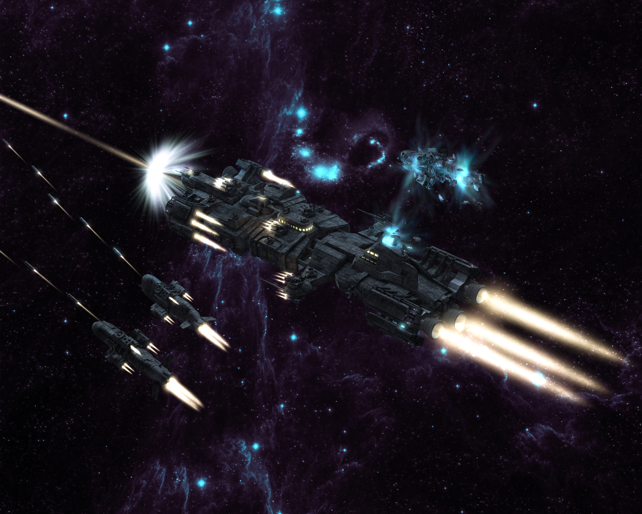 Halo Space Battle Wallpaper Images Pictures   Becuo 1280x1024