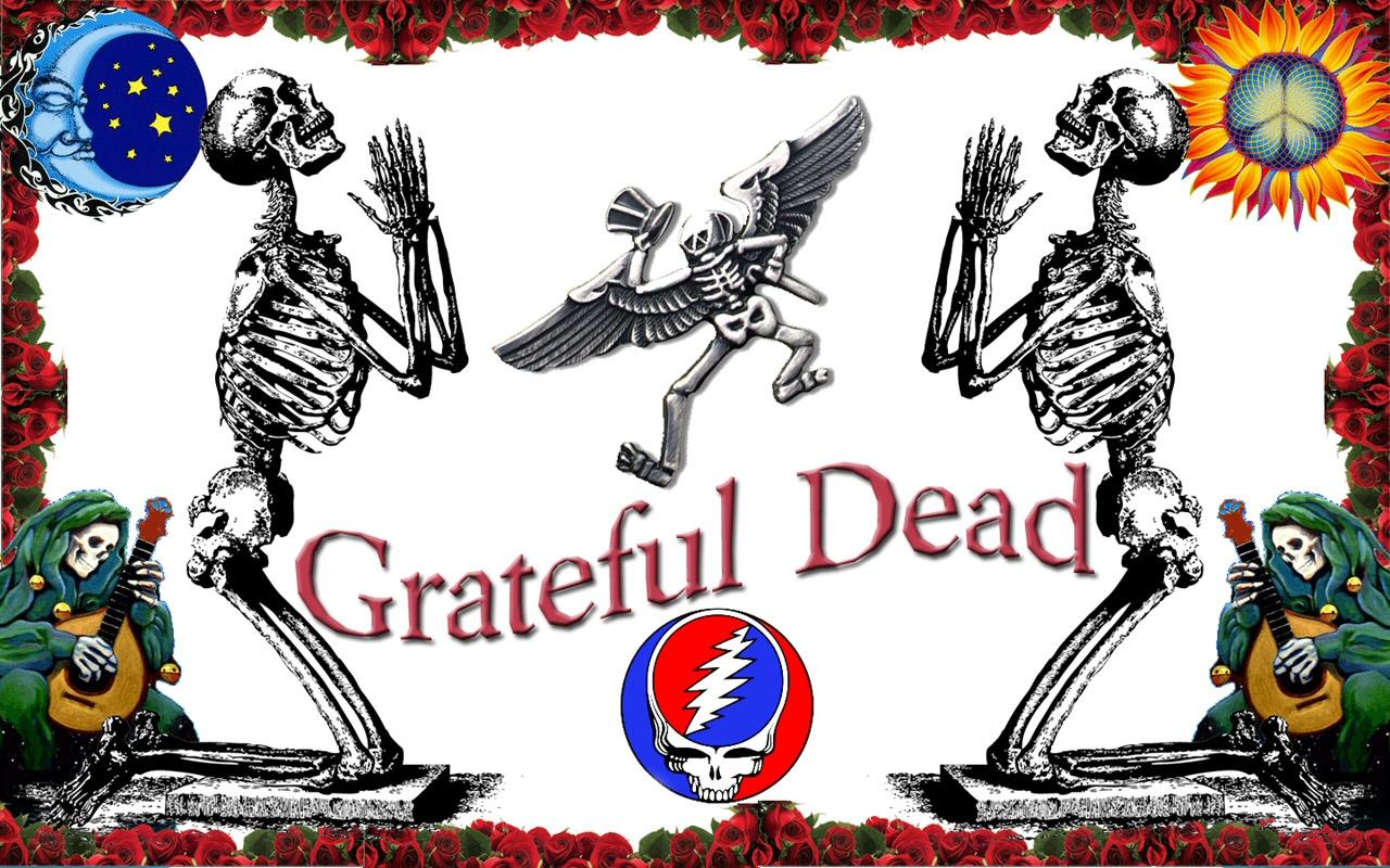 Grateful Dead Wallpapers Skeleton and Roses Wallpaper 1280x800