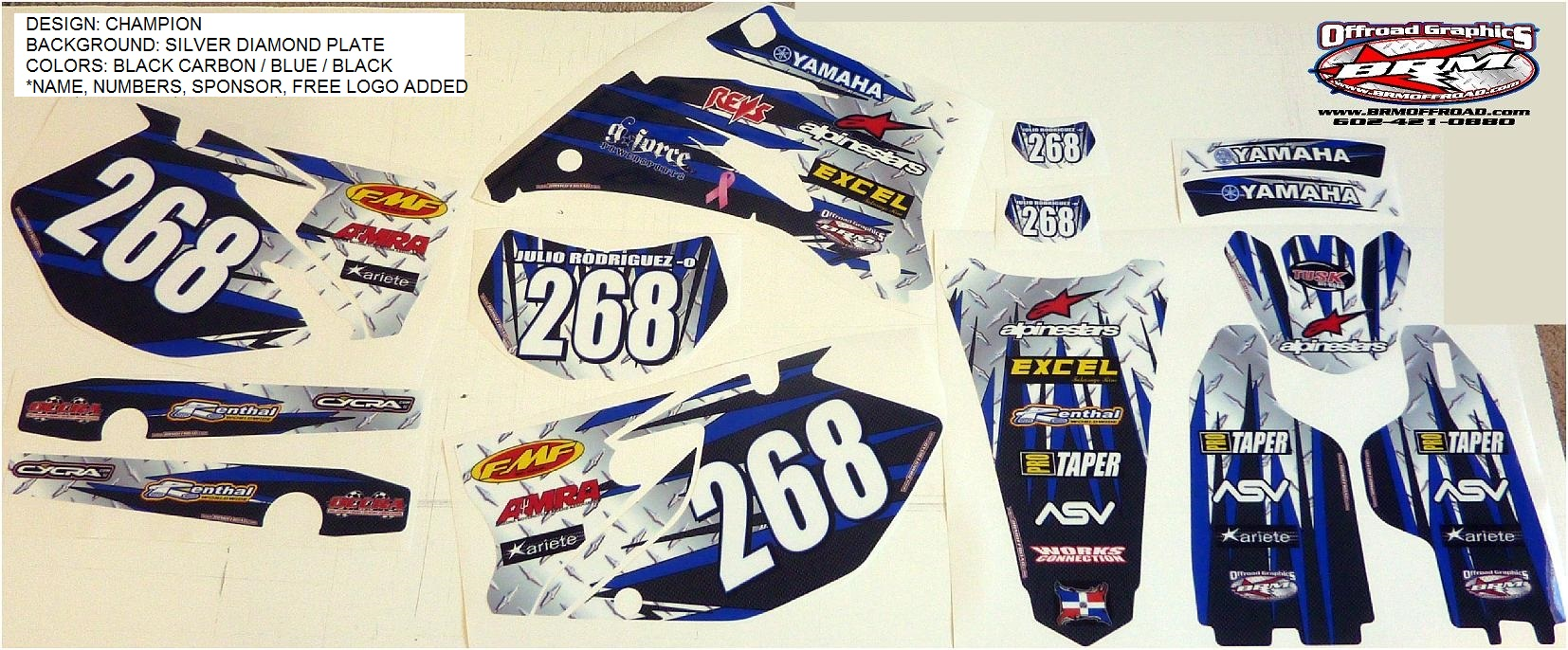 BRM Offroad   Yamaha WR250F WR250R WR250X Graphics 1654x686