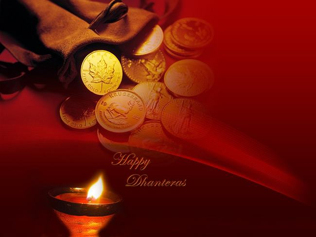Happy Dhanteras 2018 Wishes Images Messages For Whatsapp 650x488