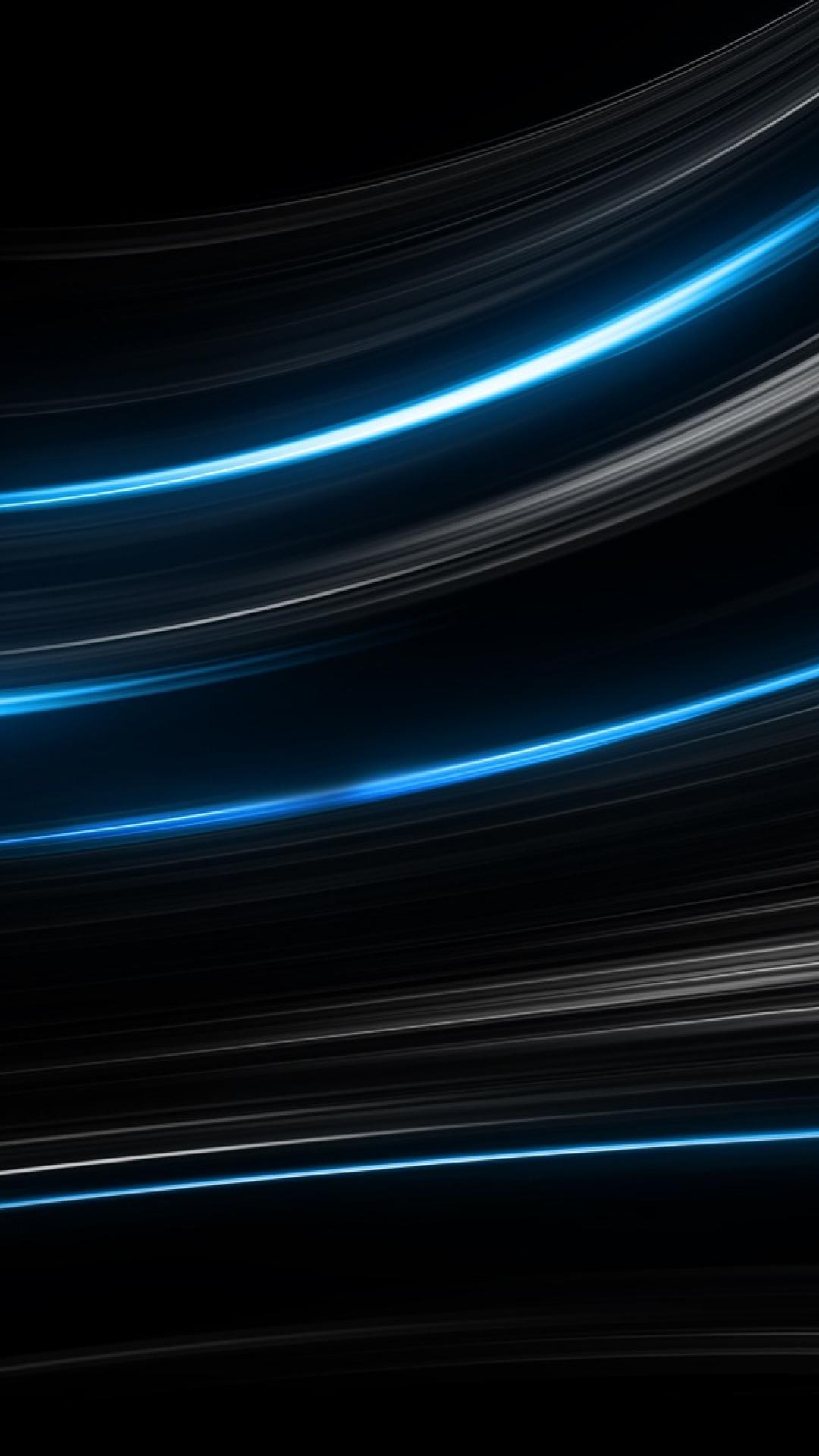 wallpaper black blue lines - photo #21