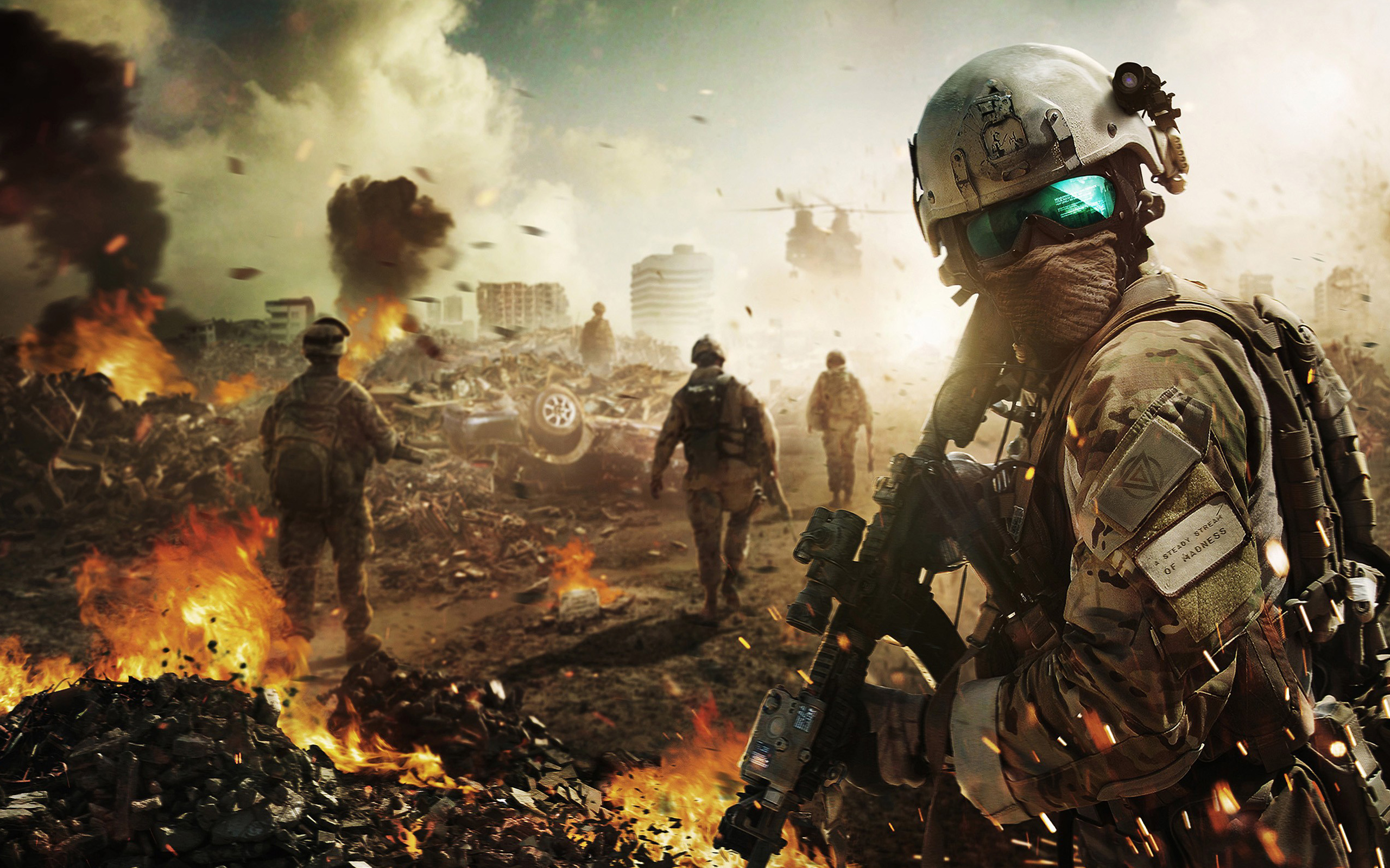Battlefield Soldier Wallpapers HD Wallpapers 2560x1600