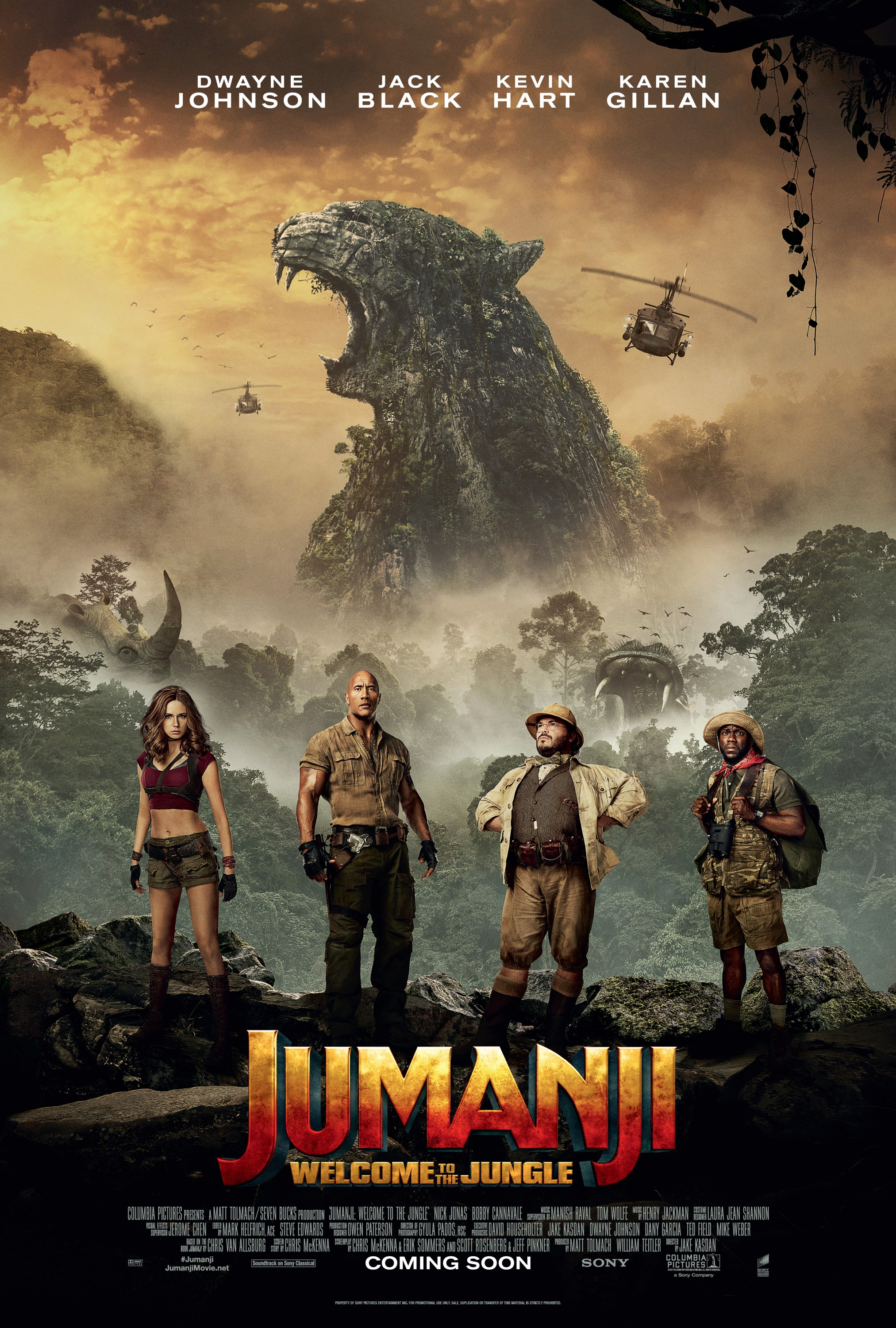 Jumanji images Jumanji Welcome to the Jungle 2017 Poster HD 2025x3000