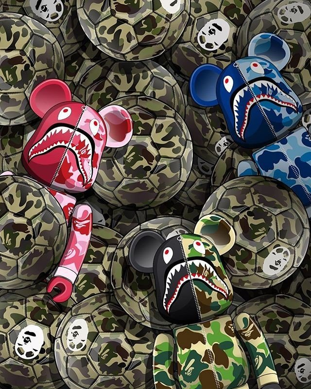 Bape Wallpaper   Iphone 7 Hypebeast Bape 40368   HD Wallpaper 640x800