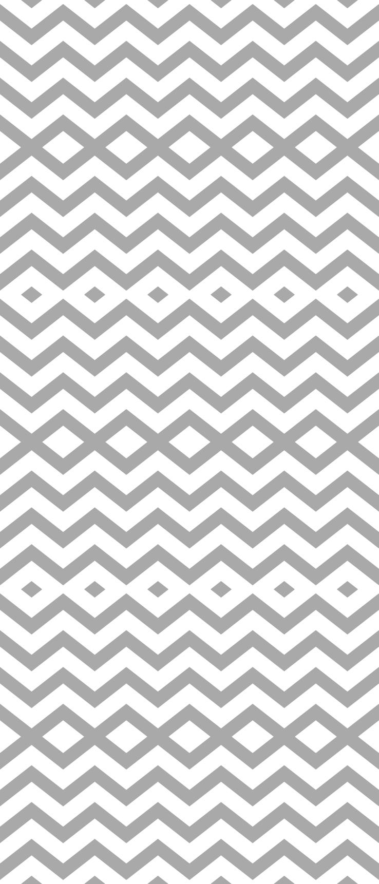 Grey White Wallpaper Designs Chevron grey and white 738x1722