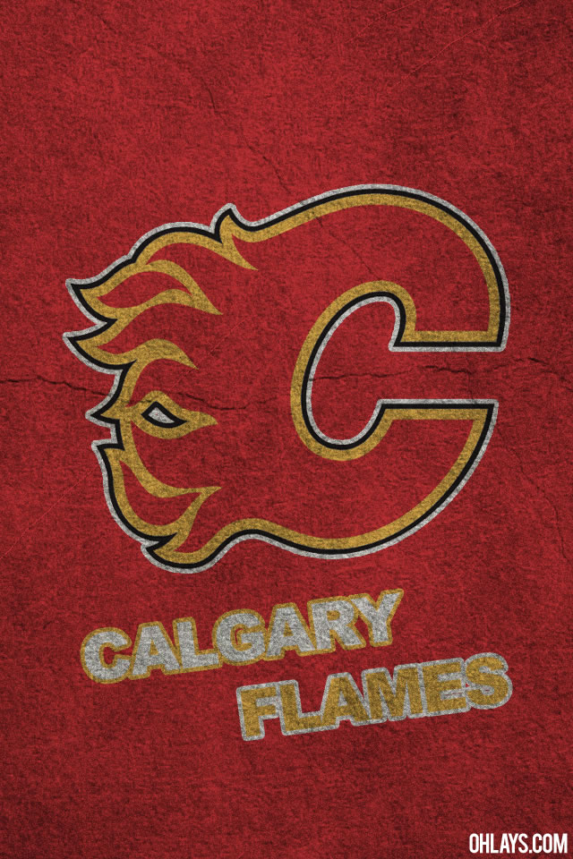Calgary Flames iPhone Wallpaper 398 ohLays 640x960