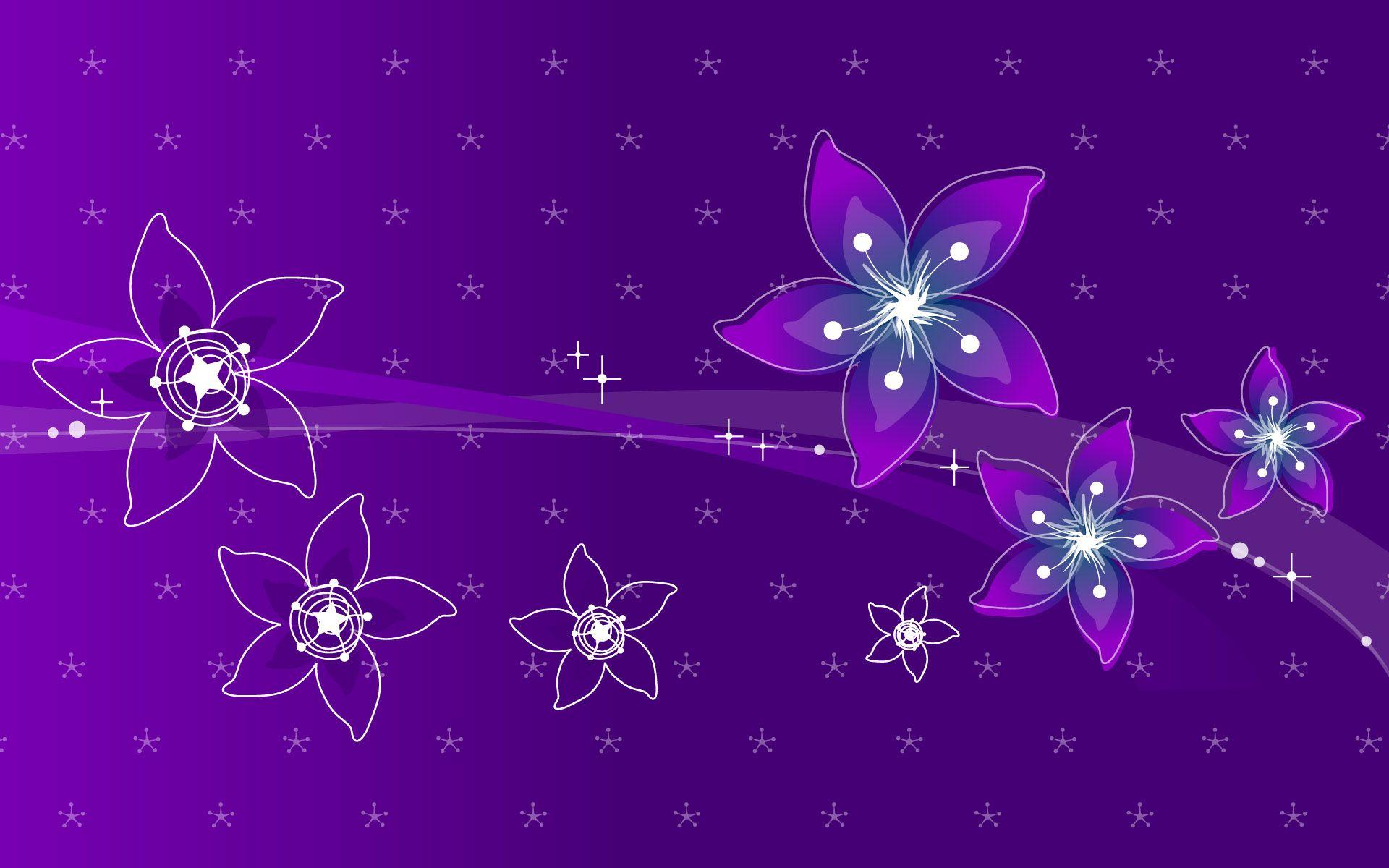 Pretty Purple Backgrounds flowers wallpaper wallpapers design 1920x1200