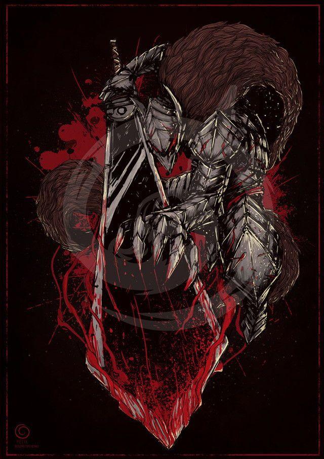 Pin by Aaron Easterling on berserk Berserk Slayer anime Anime 640x905