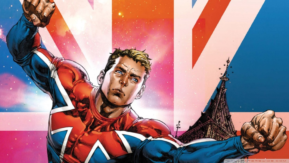 Captain Britain 4K HD Desktop Wallpaper for 4K Ultra HD TV 960x540