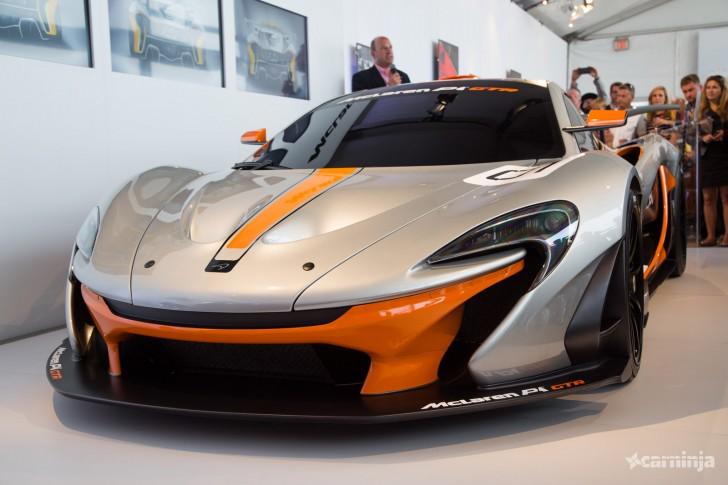 2014 McLaren P1 GTR Concept Background HD Wallpaper Wallpaper Cars 728x485