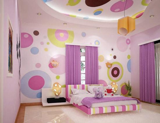 Disney Wallpaper for Kids Bedroom 550x422