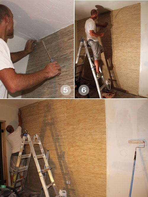 how to put up prepasted wallpaper