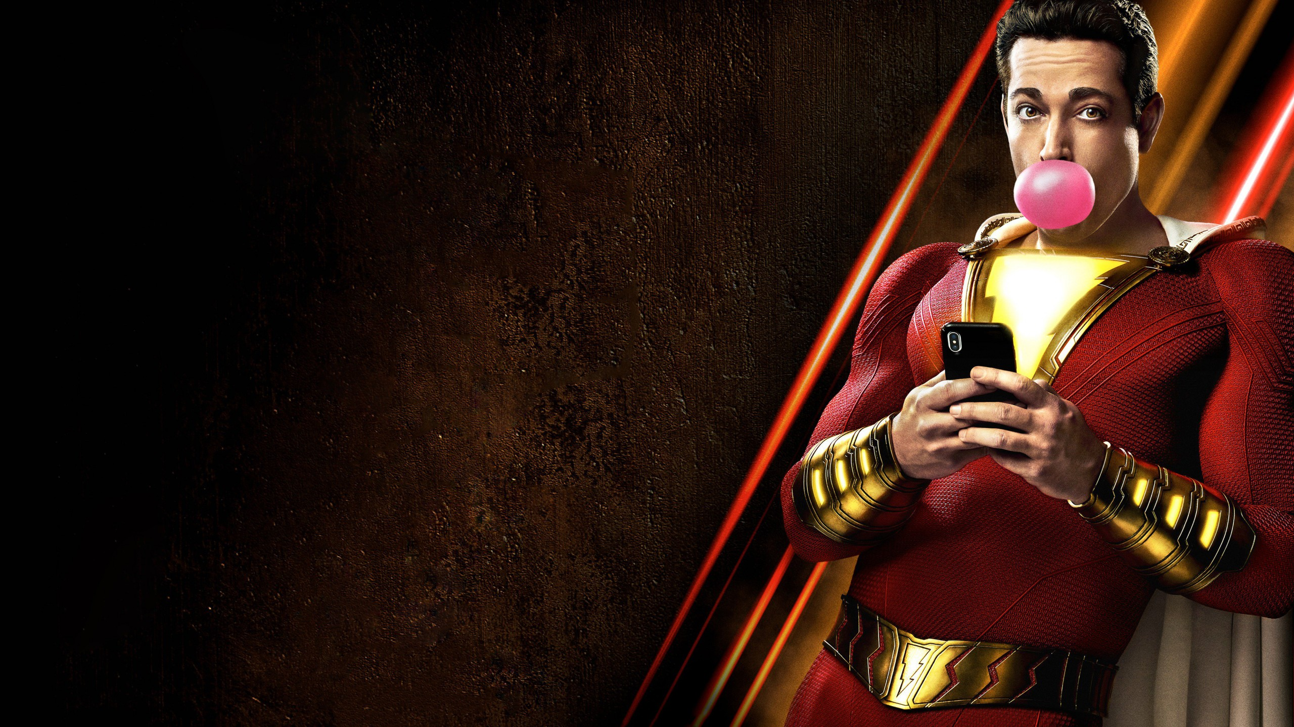 Wallpaper Shazam poster 4K Movies 20985 2560x1440