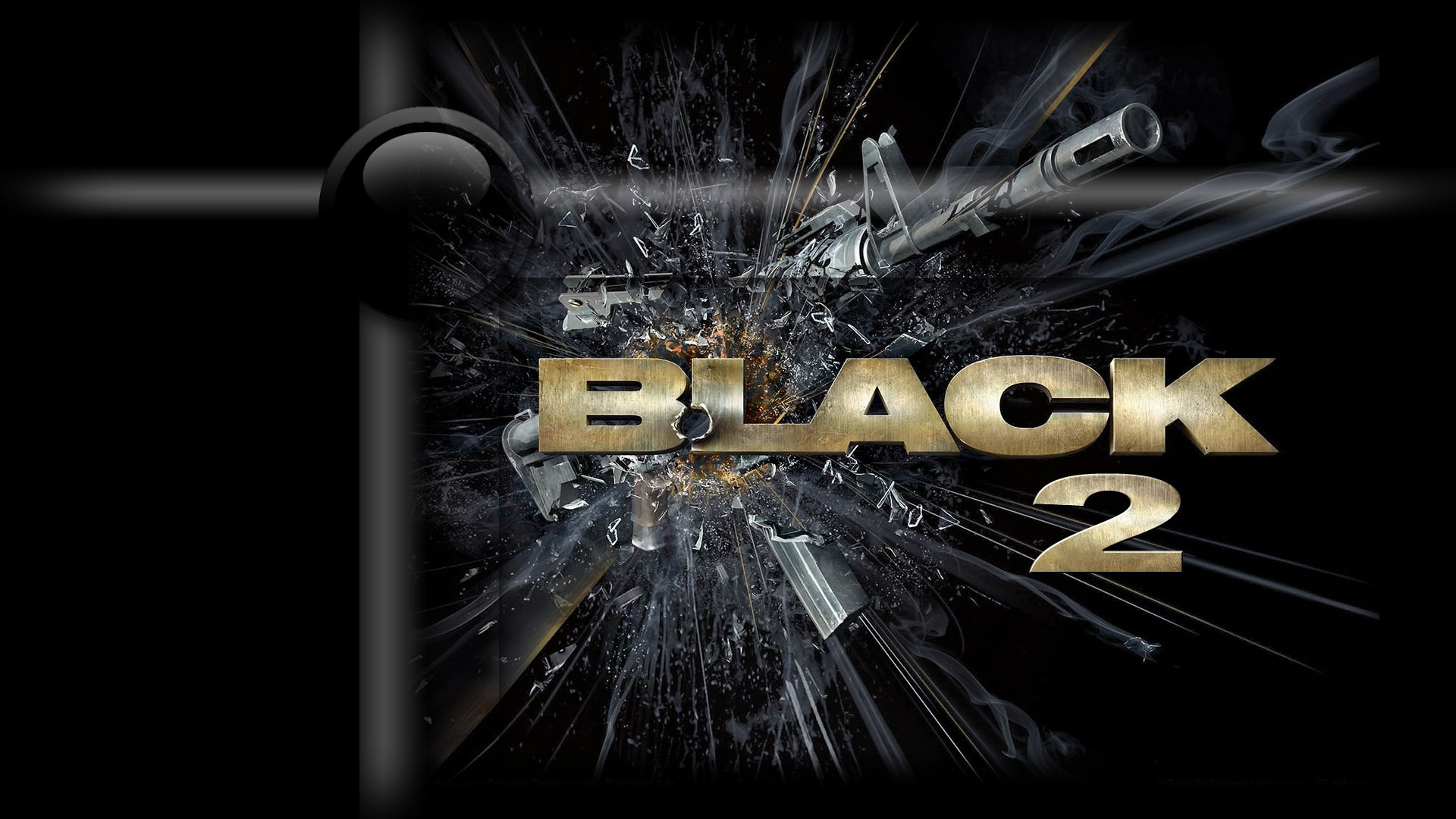 Black Game Ps2 HD wallpaper 1920x1080
