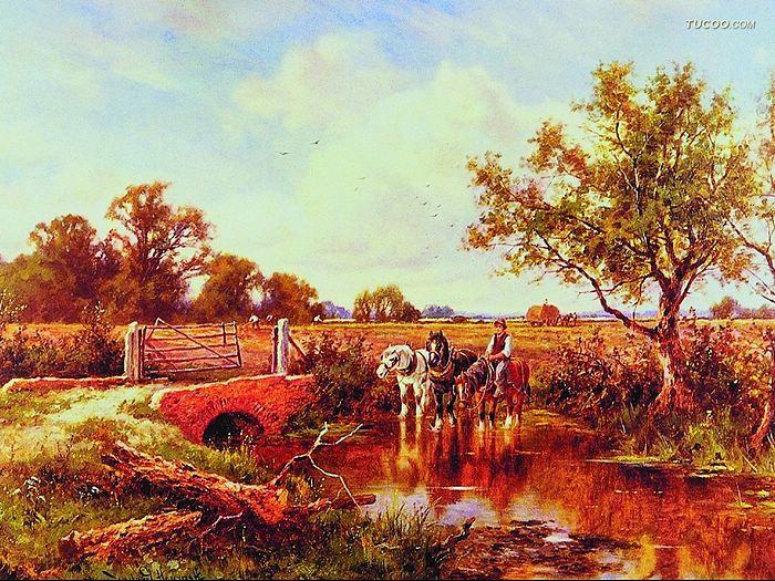 Oil Paintings Western Landscape Oil Painting Wallpaper Western 700x525
