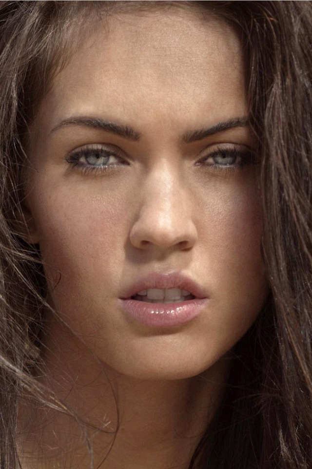 Megan Fox HD Wallpaper SPLENDID WALLPAPER iPhone 640x960