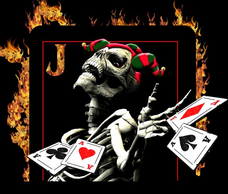 Icp Wallpaper: ICP Joker Cards Wallpaper