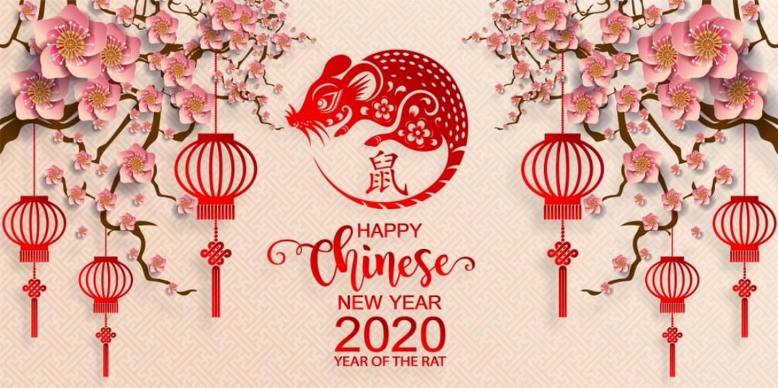 Chinese New Year 2020 Singapore New Year 2020 Hd Wallpaper 1100x549