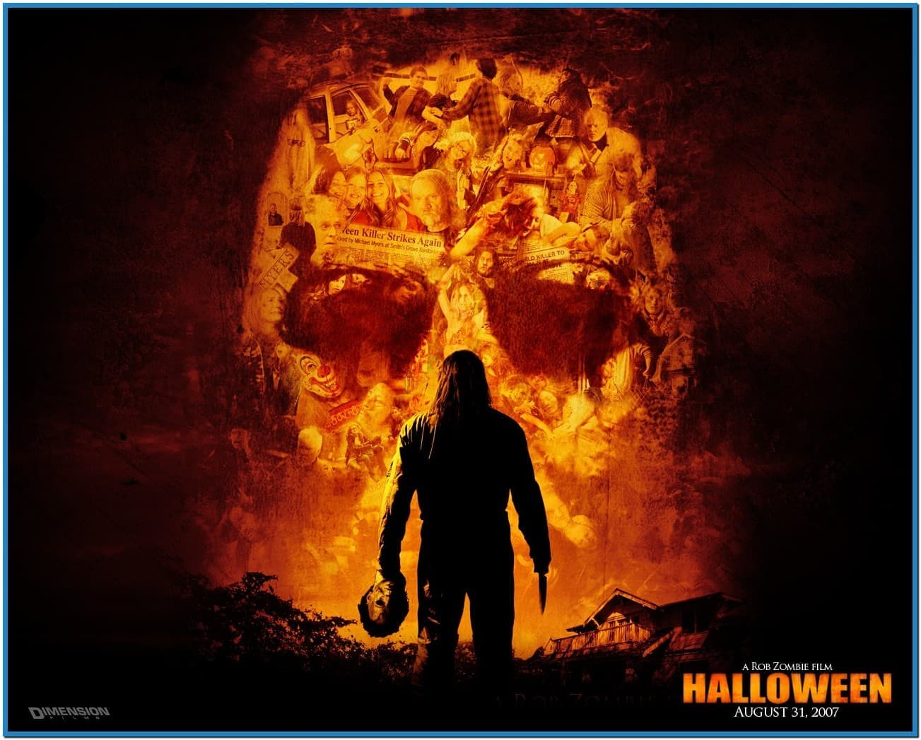 Free screensavers wallpaper halloween wallpapersafari - Scary halloween screensavers animated ...