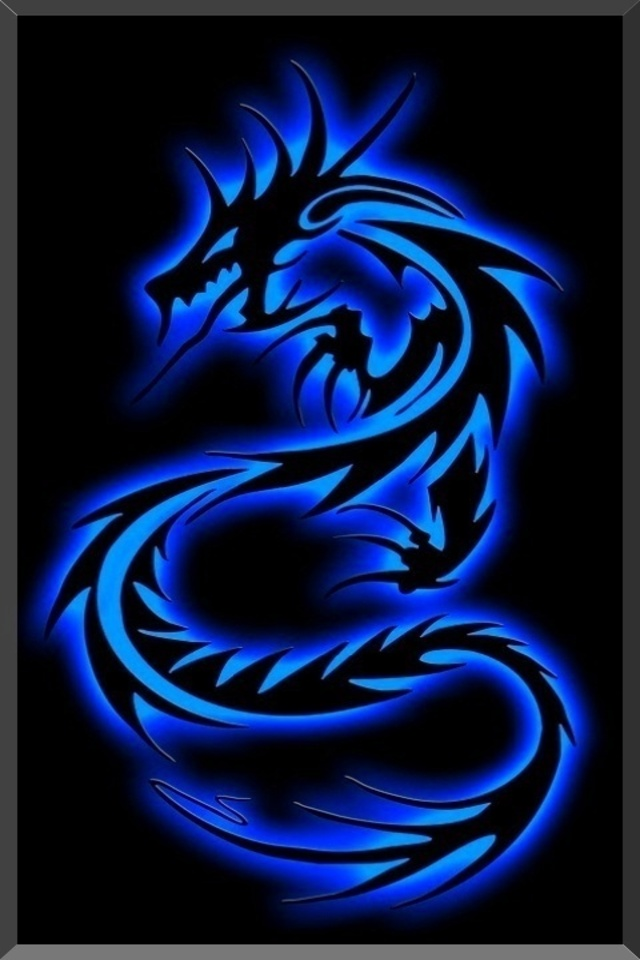 Free Download Tribal Dragon Download Wallpaper For Iphone
