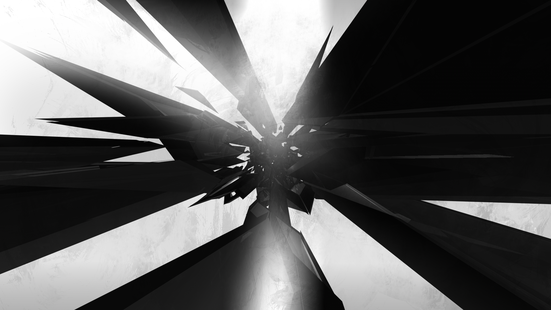 Another Black And White Abstract Wallpaper by TomSimo 1920x1080