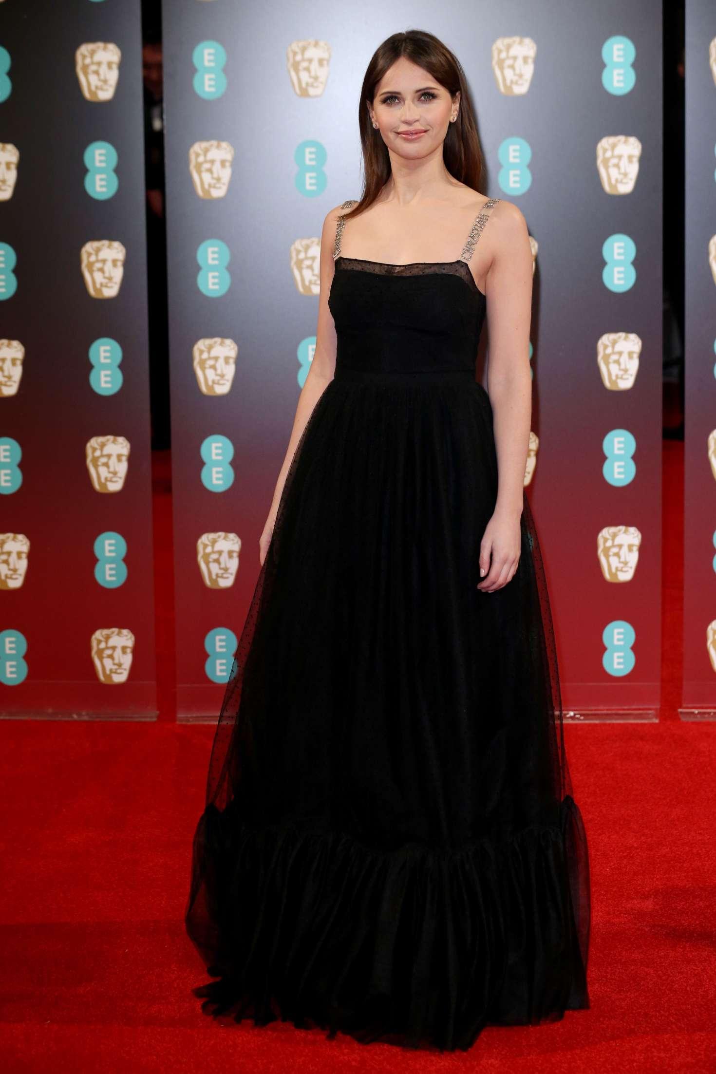 Felicity Jones 2017 BAFTA Awards  07   GotCeleb 1470x2205