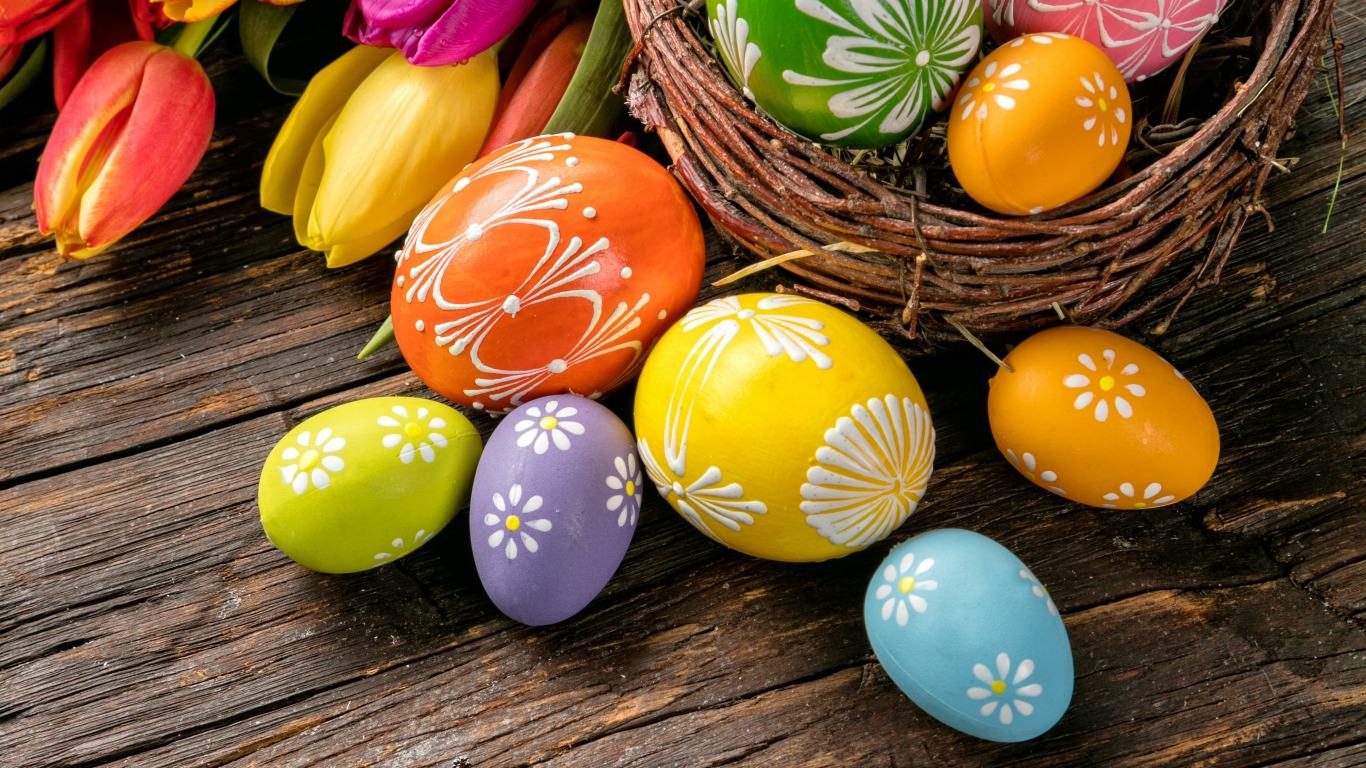 25 Easter Wallpapers Backgrounds Images FreeCreatives 1366x768