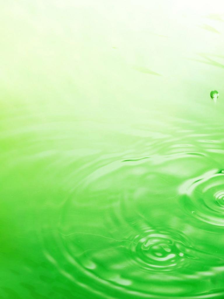 Abstract   Raindrops Green Background   iPad iPhone HD Wallpaper 768x1024