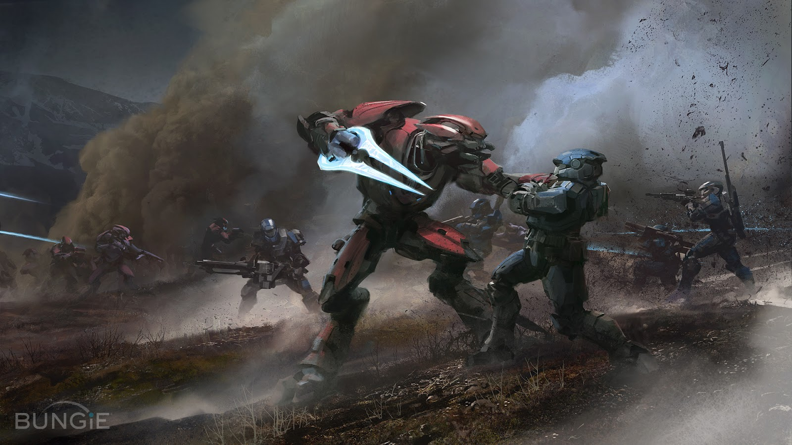 halo reach wallpaper background bungie microsoft xbox fps first person 1600x900