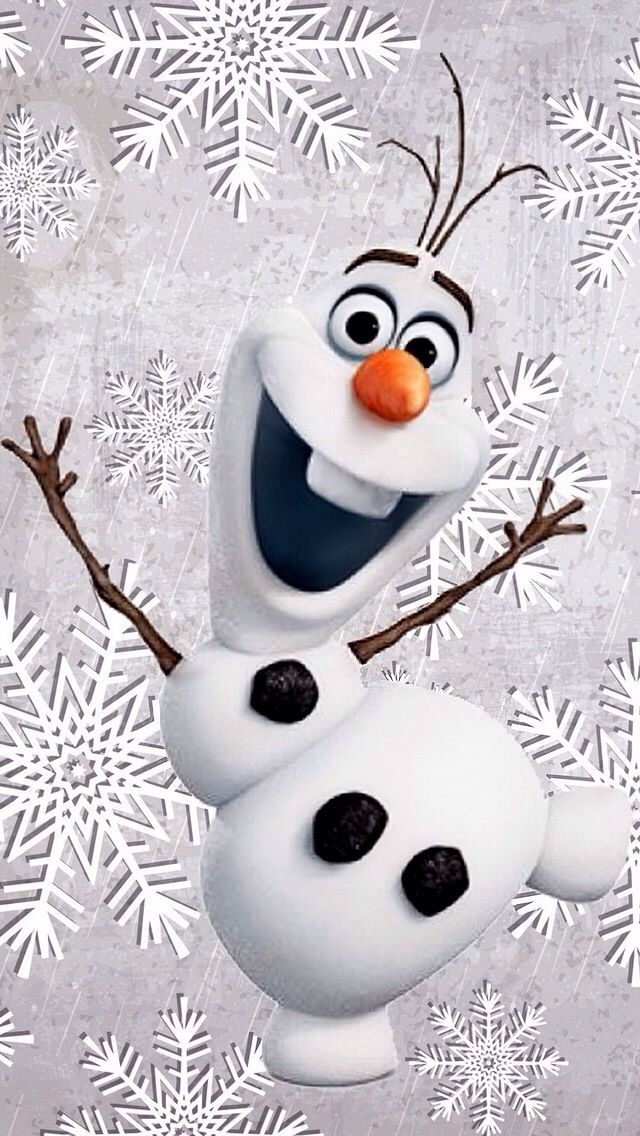 CHRISTMAS OLAF IPHONE WALLPAPER BACKGROUND IPHONE WALLPAPER 640x1136