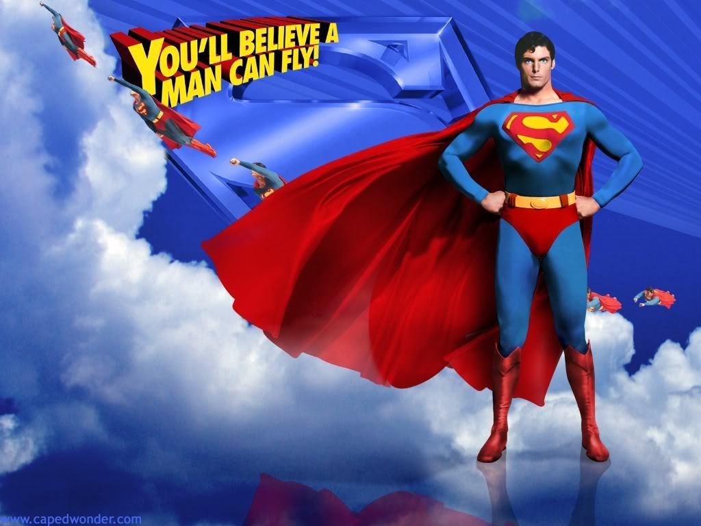 Superman Wallpaper   Superman The Movie Wallpaper 18163681 1024x768