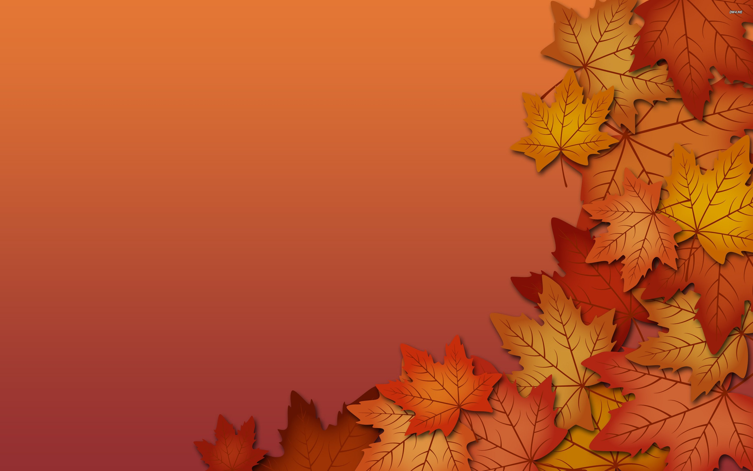 Fall Vector Foliage autumn fall 2880x1800