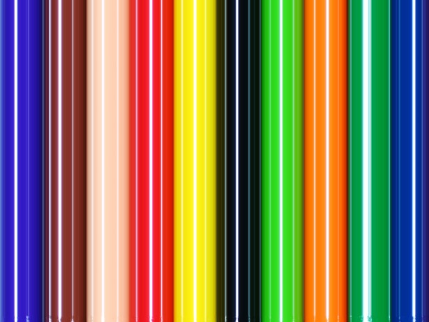 Stripes Colorful Background by Karen Arnold 615x462