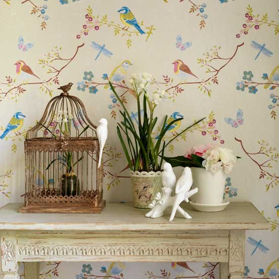 Trailing wallpaper Decorating ideas Design ideas Image 550x550