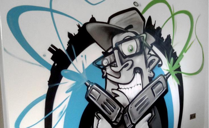 46+ Cartoon Graffiti Wallpapers on WallpaperSafari