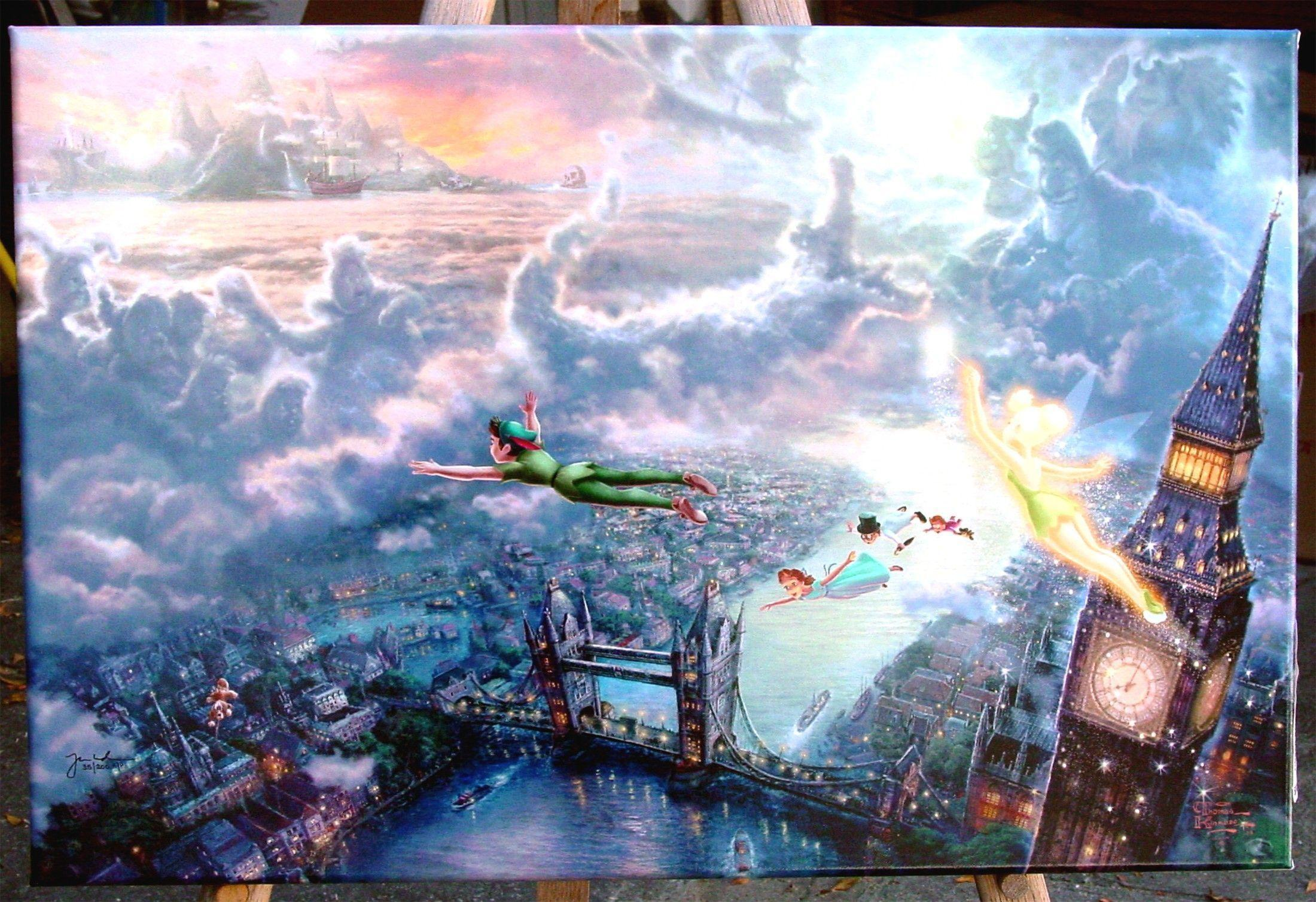 Thomas Kinkade Disney Wallpapers 2200x1508
