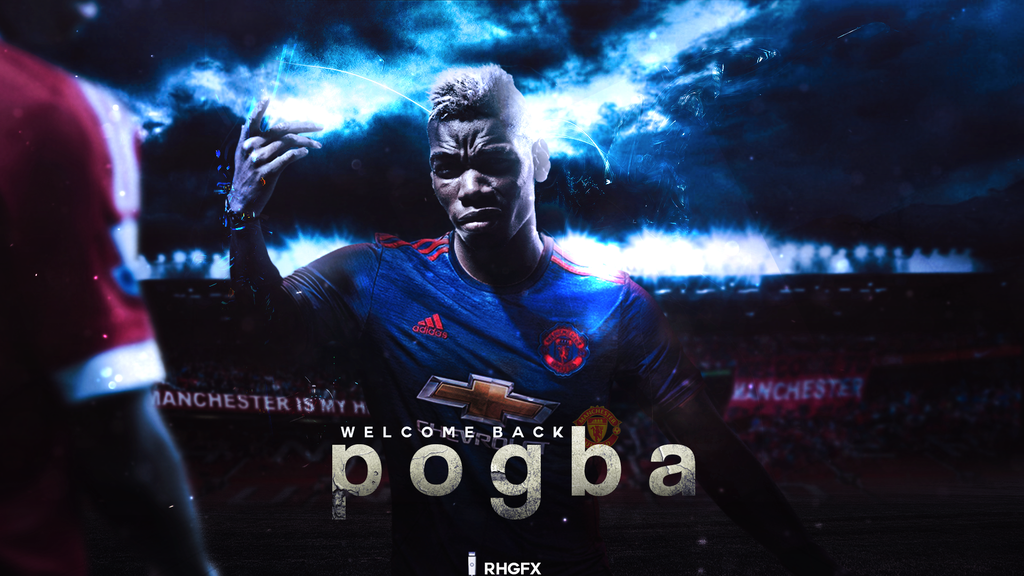 Paul Pogba Manchester United Wallpaper Ides dimages la joueur 1024x576