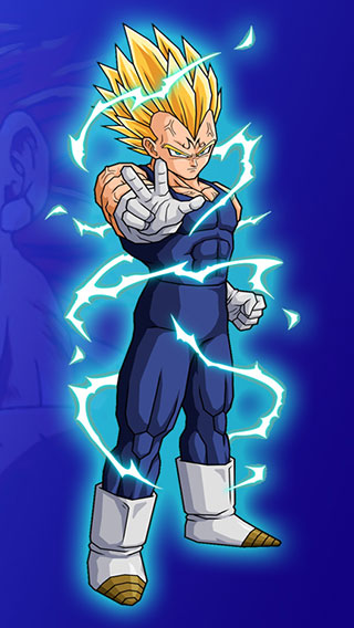 Vegeta iPhone Wallpaper on WallpaperSafari