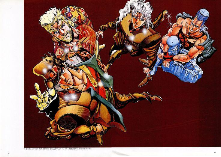 Jojos Bizarre Adventure Wallpaper Comics x Anime JoJos Bizarre 736x524