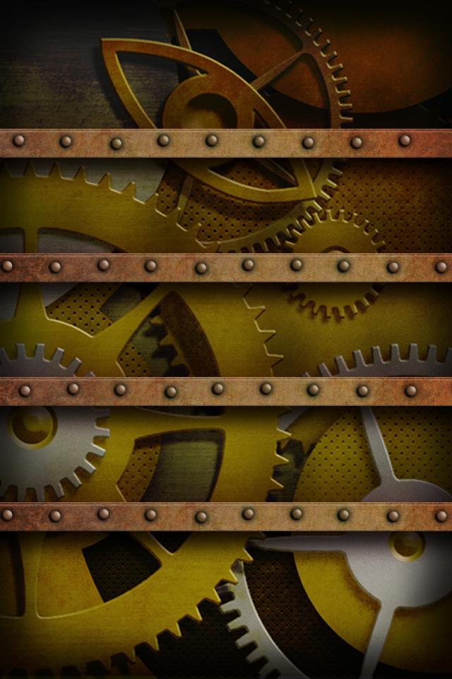 Steampunk Iphone Wallpaper Created iphone wallpaper 640x960