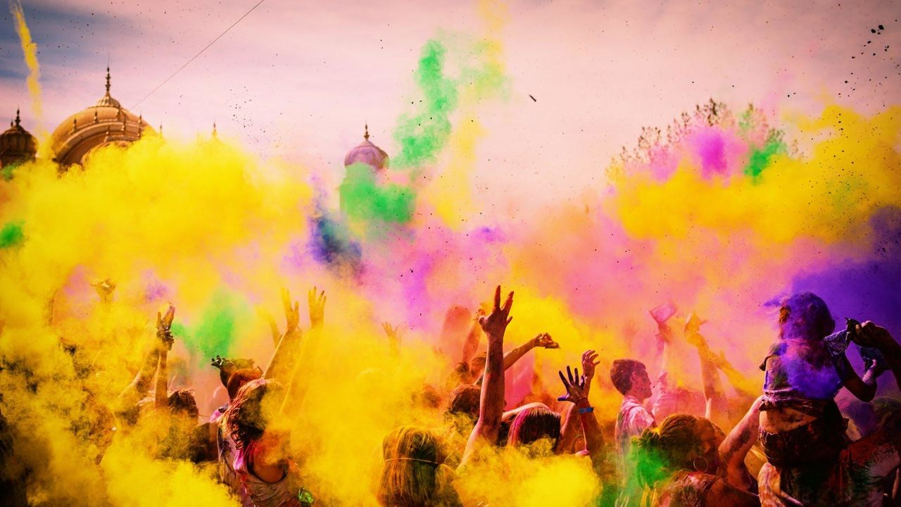Holi HD Wallpapers Cool Images 1280x720