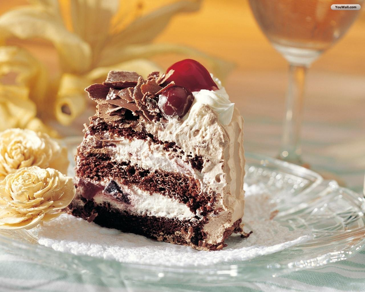 Chocolate Cake Wallpaper - WallpaperSafari